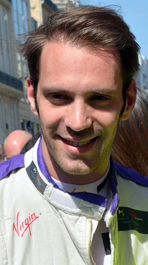 2017 New York City ePrix - Jean-Éric Vergne (pictured in 2016) ran strongly in the first race to finish second.