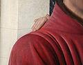 Jean fouquet, etienne chevalier con santo stefano, 1454-56 ca. 03 mano.JPG