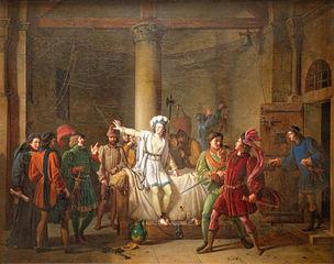 Jeanne d'Arc prisonnière à Rouen