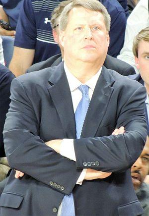 Jeff Jones (basketball) - Jones coaches a game in December 2015