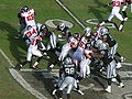 Jerious Norwood rushes at Atlanta at Oakland 11-2-08.JPG