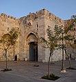 Jerusalem Jaffa Gate BW 1.JPG
