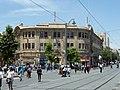 Jerusalem Zion Square Sansur Building.jpg