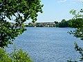 Jezioro Sępoleńskie w oddali widok miasteczka. - panoramio.jpg