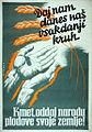 Jože Beranek - Plakat Kmet, oddaj narodu plodove svoje zemlje.jpeg