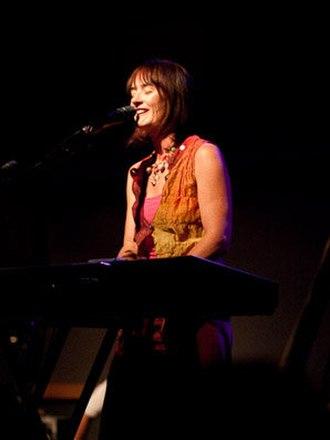 Joanne Hogg - Joanne Hogg during a 2010 Iona concert