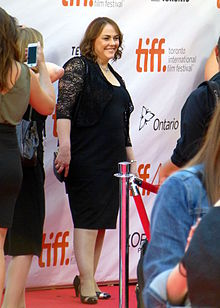 Jocelyn Moorhouse at the premiere of 2015 film, The Dressmaker, at the 2015 Toronto International Film Festival, September 2015