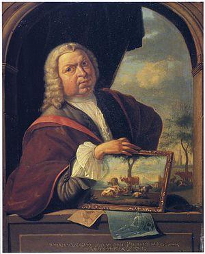 Jan van Gool - Selfportrait, 1750