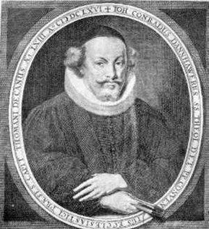 Johann Conrad Dannhauer - Johann Conrad Dannhauer