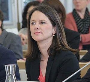 Johanna Rolland, maire de Nantes.