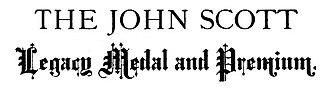 John Scott Medal - Image: John Scott Medal