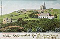 John Critien, Fort Chambray and the Lourdes Chapel with houses and valley, 1904.jpg