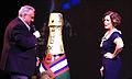 John Heald introduces actress Marcia Gay Harden on Carnival Dream.jpg