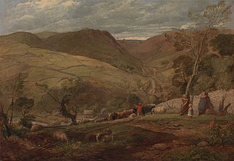 John Linnell (painter) - View in Dovedale, 1815