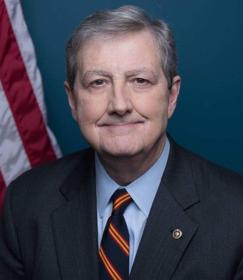 John Neely Kennedy, official portrait, 115th Congress 2