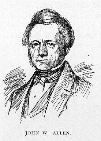 John W. Allen - Image: John W Allen