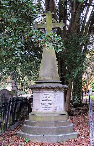 Johnny Jones (pioneer) - Johnny Jones's tomb in Dunedin Southern Cemetery