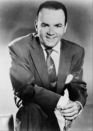 Johnny Olson - Olson in 1956.