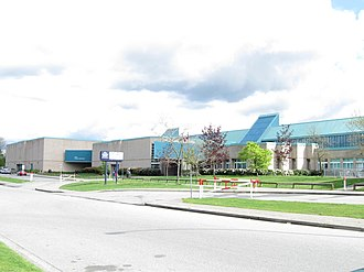 Johnston Heights Secondary School - Image: Johnston Heights Secondary (99 Avenue)
