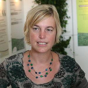 Joke Schauvliege - Image: Joke Schauvliege at Werktuigendagen 2009 b