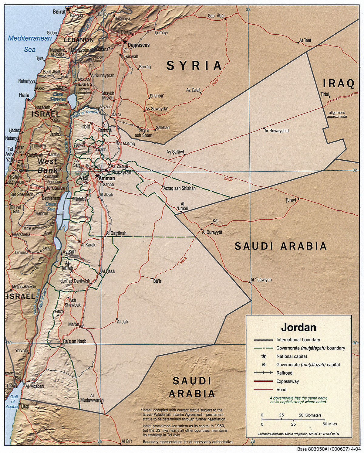 Outline of Jordan - Wikipedia