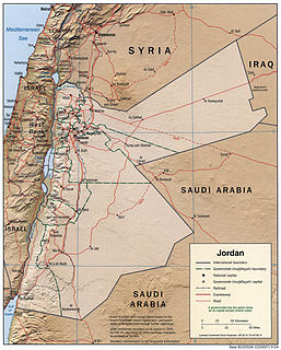 Overview of and topical guide to Jordan
