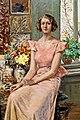 Josef Engelhart Sitzende Dame 1934.jpg