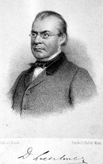 Josef von Löschner Czech doctor and university educator
