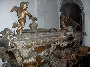 Joseph I, Holy Roman Emperor - Tomb of the emperor in the Imperial Crypt, Vienna