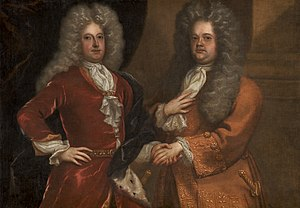 Richard Steele - Of the 271 essays published in The Tatler, Joseph Addison (left) wrote 42, Richard Steele (right) wrote roughly 188, and the rest were collaborations between the two writers.