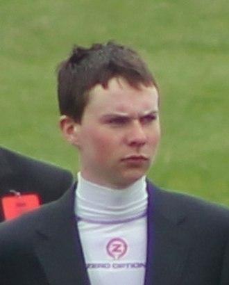 Joseph O'Brien (jockey) - Joseph O'Brien before riding Camelot in the 2012 Epsom Derby.