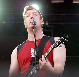 Songs for the Deaf - Josh Homme performing with Queens at V2003 in support of Songs for the Deaf