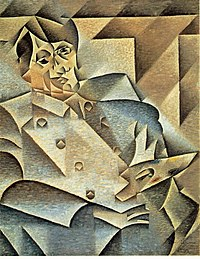 Хуан Грис. «Портрет Пикассо», 1912