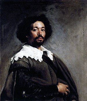 Representation of slavery in European art - Portrait of Juan de Pareja, by Velázquez