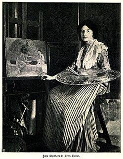 Julie Wolfthorn German painter (1864-1944)