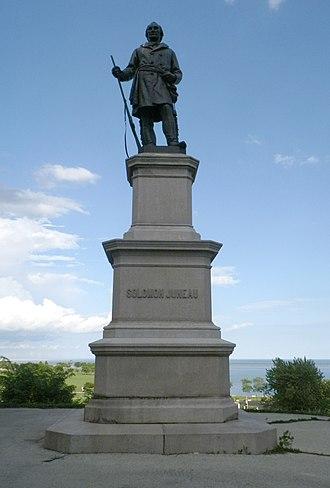 Juneau Monument - Image: Juneau Monument 1887