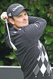 Justin Rose English professional golfer