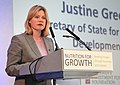 Justine Greening concludes Nutrition for Growth (8986955748).jpg