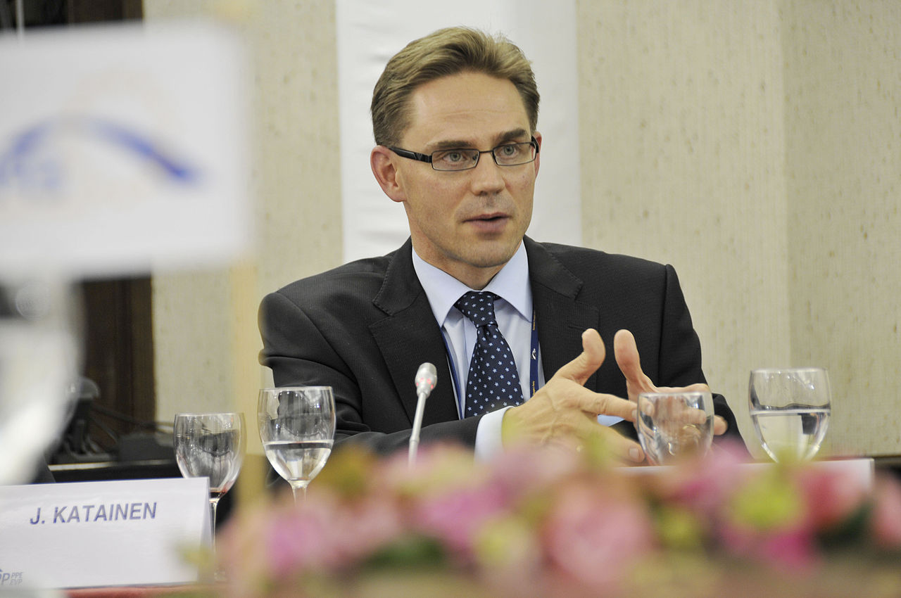 Jyrki Katainen - foto di European People's Party