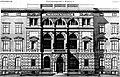 Königliche Regierung in Königsberg, Mitteltragheim 40, (1881), Entwurf Karl Friedrich Endell, Fassade.jpg
