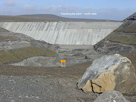 Image illustrative de l'article Centrale hydroélectrique de Kárahnjúka