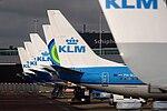 KLM Aircraft at Schiphol Airport, 13 April 2015.jpg
