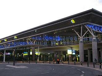 King Shaka International Airport - Image: KSIA Passenger Terminal