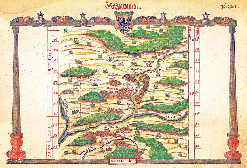 File:K Grüningen Amtsbezirk Schickhardt fol XI um 1605.jpg