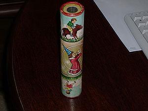 Kaleidoscope - A toy kaleidoscope tube