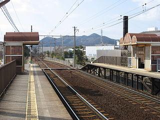 Kambe Station Railway station in Tahara, Aichi Prefecture, Japan