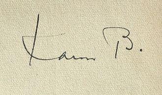 Karen Bramson - Image: Karen Bramson signature 2