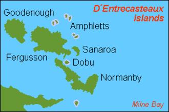 D'Entrecasteaux Islands - D'Entrecasteaux Islands.