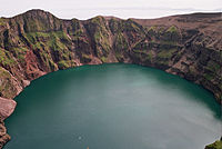 Kasatochi Island crater lake, August 14, 2004.jpg