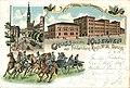 Kaserne des Feldartillerie-Regiments 36 in Danzig, Postkarte von 1898.JPG